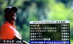 タイガー・ウッズ参戦の2015 ウィンダム選手権3日目