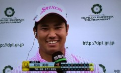 松山英樹選手の2016 ダンロップフェニックストーナメント3日目