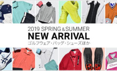 2019 SPRING&SUMMER NEW ARRIVAL
